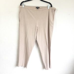 Eileen Fisher High Waisted Cropped Pants